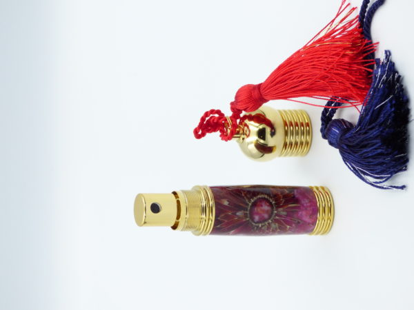 Vaporisateur de parfum de poche-fleurs de chardon